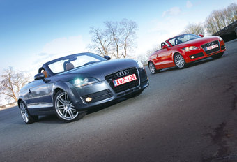 AUDI TT ROADSTER 2.0 TFSI & 3.2 V6 : Muurbloem of dancing queen? #1