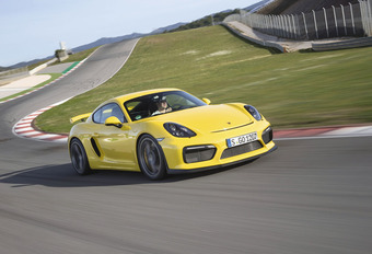 Porsche Cayman GT4: back to the roots #1