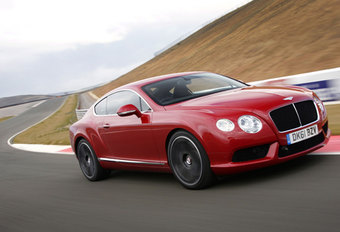 BENTLEY CONTINENTAL GT V8 (2012) - Circuittest #1