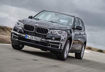 BMW X5 PLUG-IN HYBRID (2014) - Prototypetest #1