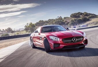 MERCEDES-AMG GT S (2014) - circuittest #1