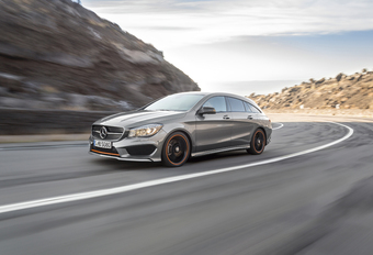 Mercedes CLA Shooting Brake: break met coupéallures #1