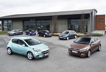 Ford Fiesta 1.0 EcoBoost, Hyundai i20 1.2, Opel Corsa 1.0 Turbo ecoFlex, Peugeot 208 1.2 PureTech, Renault Clio 0.9 TCe et ŠŠkoda Fabia 1.2 TSI : Génération turbo #1