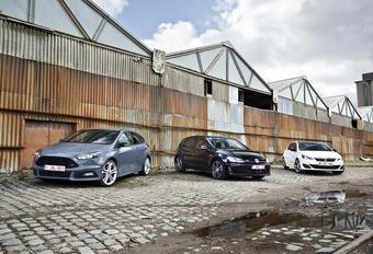 Ford Focus ST TDCi, Peugeot 308 GT HDi et Volkswagen GTD : Querelle au diesel #1