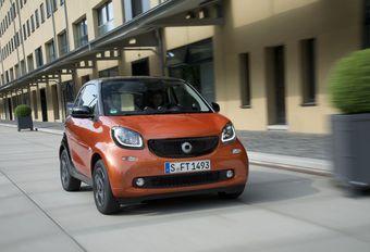 Smart Twinamic: een echte auto #1