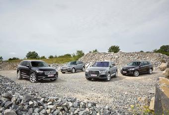L'Audi Q7 et le Volvo XC90 face à leurs rivaux #1