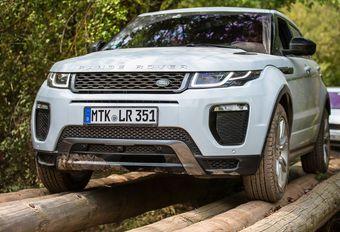 Range Rover Evoque: vooruitgang op alle terreinen #1