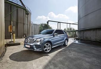 Mercedes GLE 250d : jeu d'écriture #1