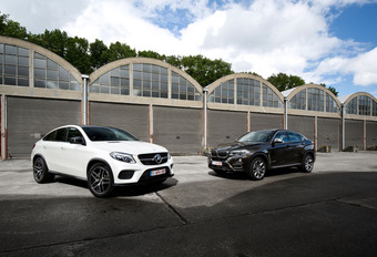 De BMW X6 tegen de Mercedes GLE: Imitatio of aemulatio? #1