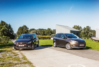 FORD GRAND C-MAX 1.5 TDCI // VOLKSWAGEN TOURAN 2.0 TDI : Love & Marriage #1