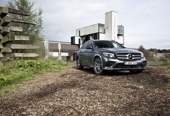 Mercedes GLC 220d : métamorphose #1