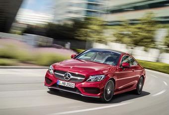 Mercedes Classe C Coupé : élégance et discrétion #1