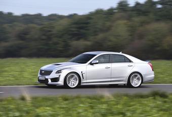 Cadillac CTS-V : Rolling thunder #1