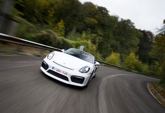 Porsche Boxster Spyder : le rebelle #1