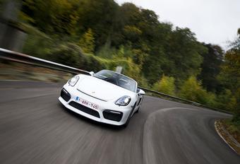 Porsche Boxster Spyder : rebel #1