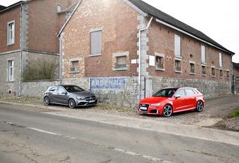 Tweekamp Audi RS3 Sportback tegen Mercedes-AMG A 45 : Nog een schepje #1
