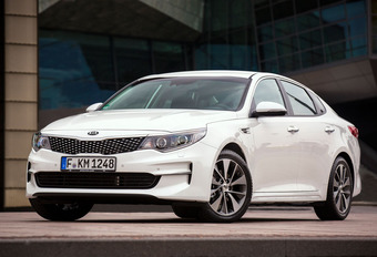Kia Optima 1.7 CRDi (A) : Evolutions en douceur #1