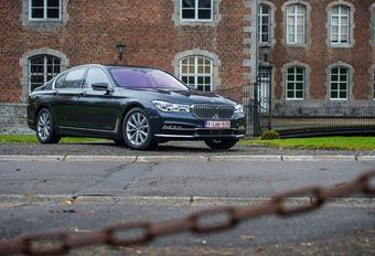BMW 740i : Nouvelles technologies #1