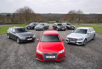 Zevenkamp - De Audi A4 Avant en Mercedes C-Klasse Break tegenover 5 rivalen #1
