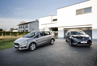 Ford S-Max 2.0 TDCi contre Renault Espace 1.6 dCi : Le nouveau défi #1