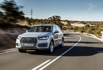 AUDI Q7 e-Tron : Fiscaal paradepaardje #1