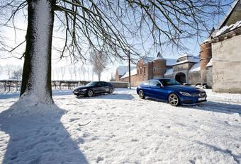 BMW 420d Steptronic vs Mercedes C 220d 9 G-Tronic : Poudre(use) aux yeux #1