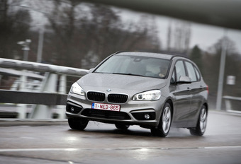 BMW 225xe Active Tourer : Monospace responsable #1