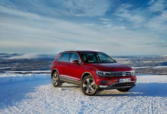 Volkswagen Tiguan : Renne des neiges #1