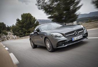 Mercedes SLC : chevaux au vent #1