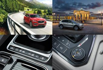 AutoWereld probeert de Jaguar F-Pace en de Volkswagen Tiguan #1