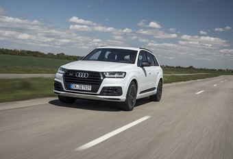 Audi SQ7: high voltage #1