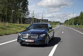 Mercedes E 220d : Presque autonome #1