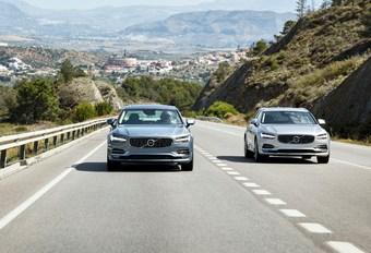 Volvo S90 en V90 2017: op veroveringstocht #1