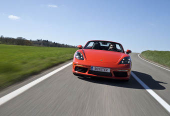Porsche 718 Boxster S A : Carrera-concurrent #1