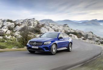 Mercedes GLC Coupé : La dynamique du style #1