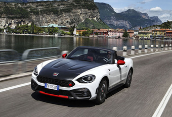 Abarth 124 Spider : Bluffeuse #1