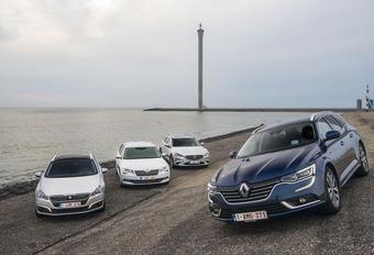 La Renault Talisman Grandtour face à 3 rivales #1
