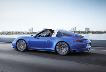 Porsche 911 Targa 4 PDK : Avec turbo #1
