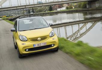 Smart ForTwo Cabrio : Luchtig door de stad #1