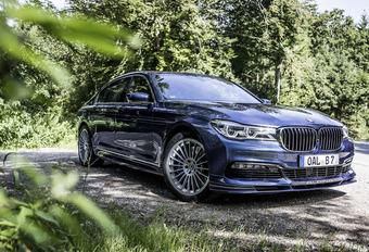 BMW ALPINA B7 Biturbo : Reine d'Autobahn #1