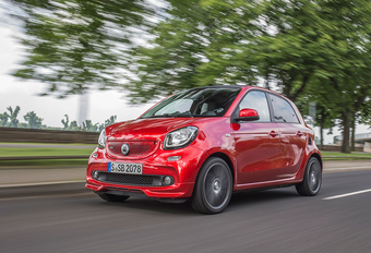 Smart ForFour Brabus Twinamic (2016) #1