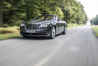 Rolls-Royce Dawn : L'écrin #1