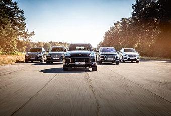 AUDI Q7 E-TRON QUATTRO // BMW X5 XDRIVE40e // PORSCHE CAYENNE S E-HYBRID // MERCEDES GLE 500 e 4MATIC // VOLVO XC90 T8 eAWD : Excuustruzen #1