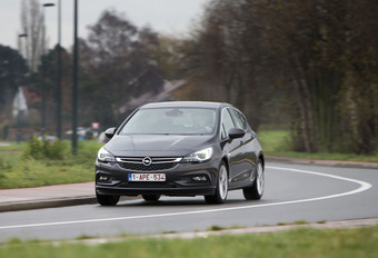 Opel Astra 1.6 CDTI 160 : Extra pit #1