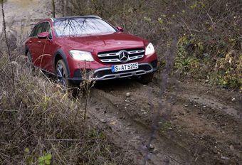 Mercedes All Terrain E : En rase-mottes  #1