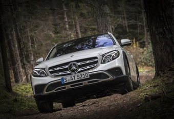 Mercedes E220d All-Terrain (2016)
