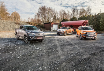 FORD RANGER 3.2 TDCi // NISSAN NAVARA dCi 190 // TOYOTA HILUX 2.4 D-4D : Vraagba(a)k #1