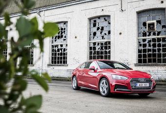 Audi A5 Coupé 3.0 TDI : Toujours sculpturale #1