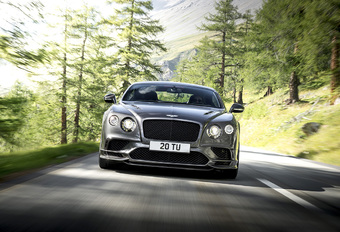 Bentley Continental Supersports : Zwaar geschut #1