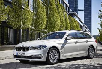 BMW Série 5 Touring : Cargo feutré #1